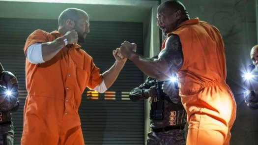 Dwayne 'The Rock' Johnson and Jason Statham from the Fate of the Furious, will star in 'Hobbs & Shaw' / Universal Pictures