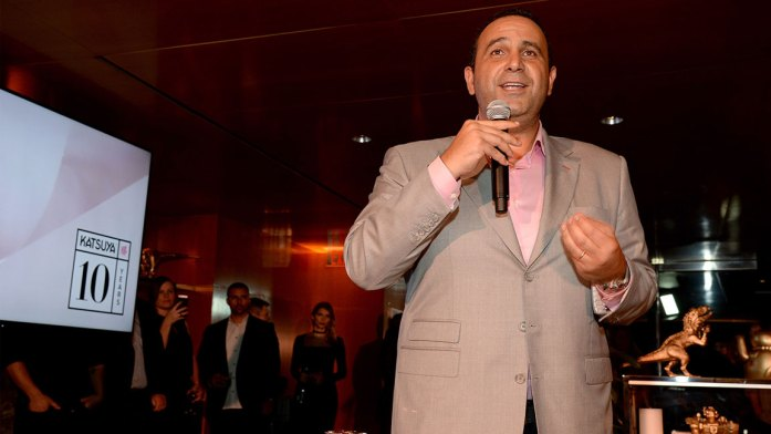 CEO of sbe Entertainment Group Sam Nazarian presents at Katsuya Brentwood Celebrates A Decade on June 15, 2016 in Los Angeles, California. (Photo by Michael Kovac/Getty Images for Katsuya)