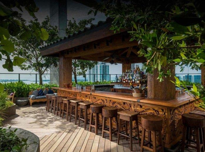 Sugar rooftop bar in Miami
