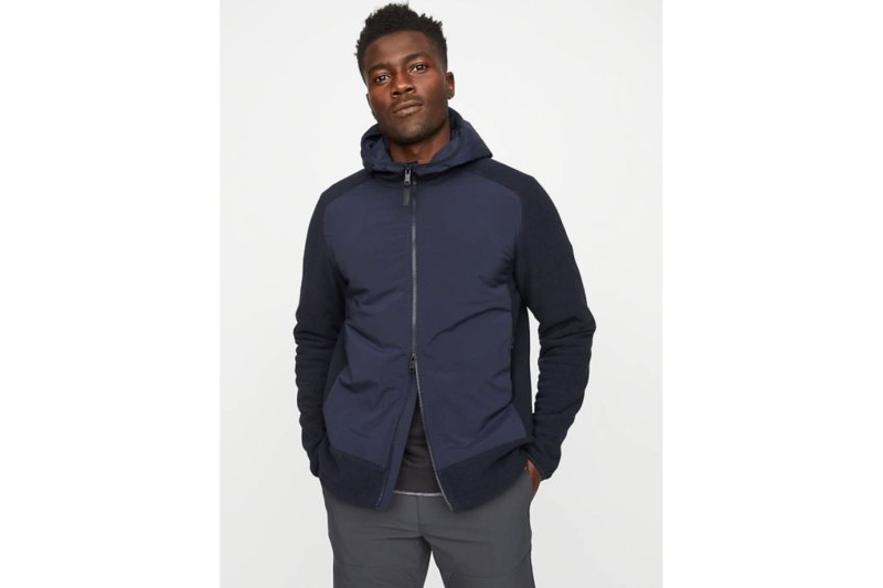Hill City Thermal Light Hooded Fleece Jacket