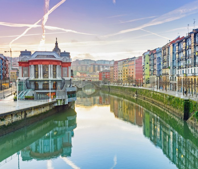 Bilbao food market