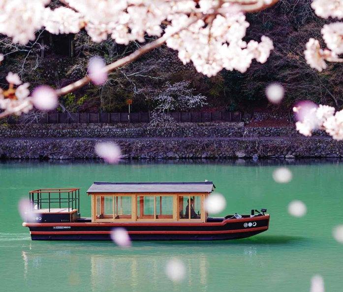 HOSHINOYA Hotel in Kyoto, Japan