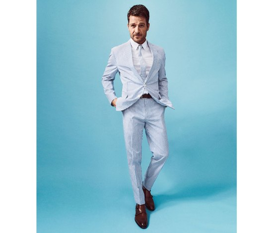 Seersucker suit by Brooks Brothers