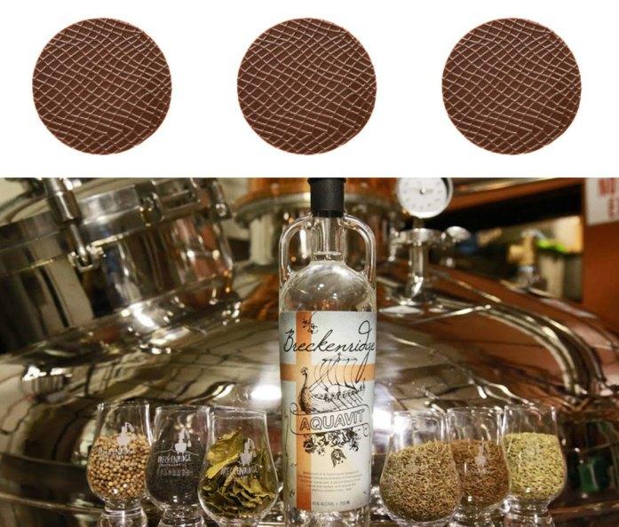 Éclat Chocolate Peanut Butter Mondiant and Breckenridge Aquavit