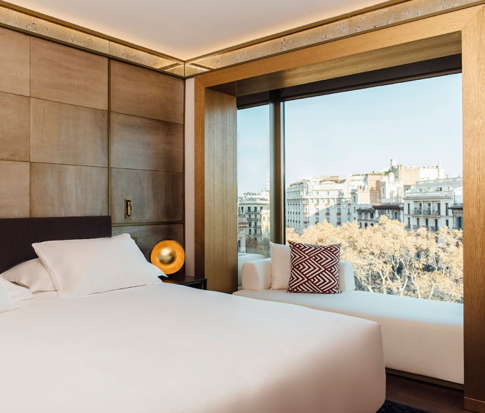 A room with a view at Almanac Barcelona