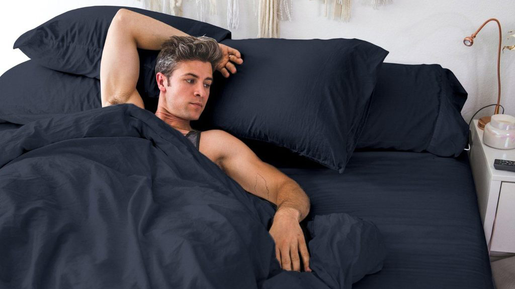bedclothes for men from pillow guy