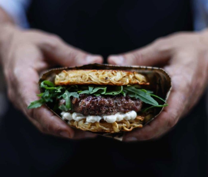 Milk Bar & Bistro ramen burger
