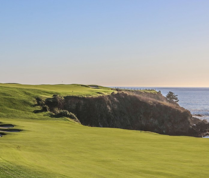 Golf links at the Pebble Beach course
