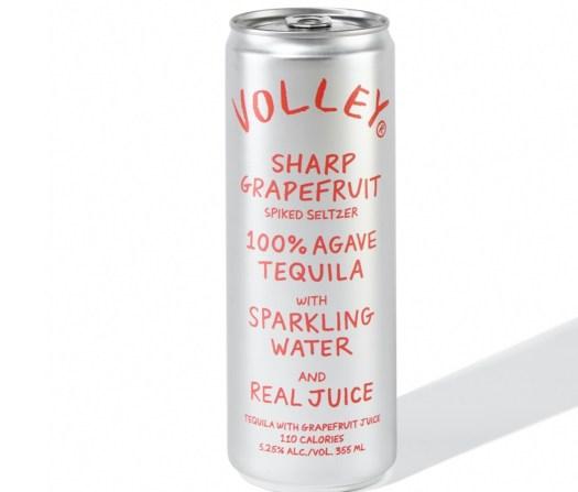 Volley Sharp Grapefruit Spiked Seltzer
