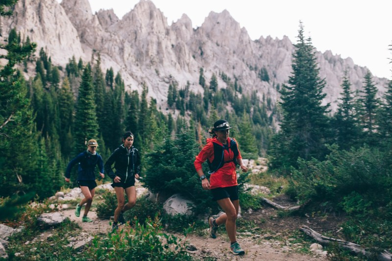 Sawtooth Range Idaho New Trail Running Gear Test Arcteryx Cochrane