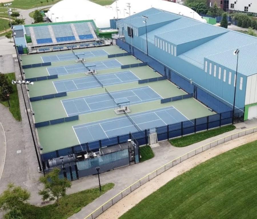 Exterior of John McEnroe Tennis Academy