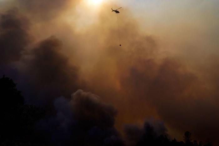 Glass Fire Napa California, Viader Vineyards & Winery, Deer Park, California, United States