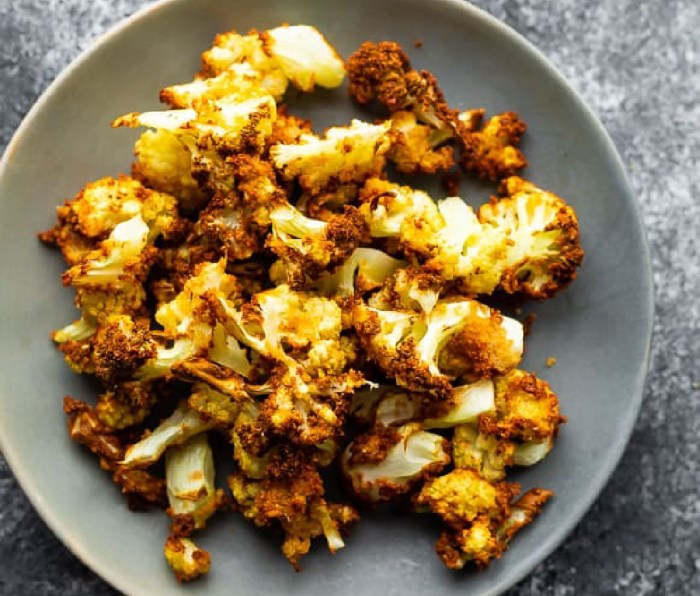 Crispy Air Fryer Cauliflower Bites