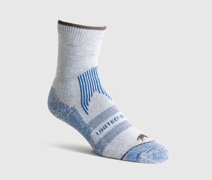 united by blue sock