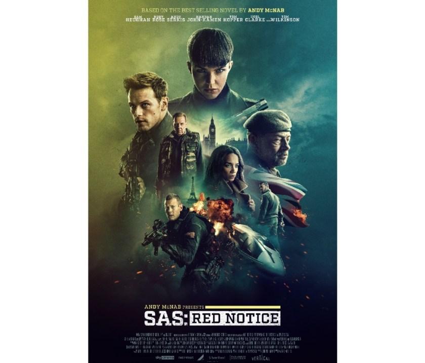 'SAS: Red Notice' poster