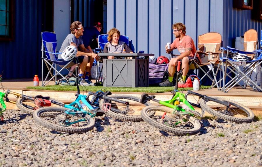 Aquarius Bike Huts