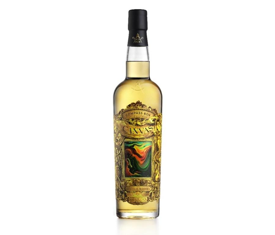 Bottle of Compass Box Canvas Scotch Whisky
