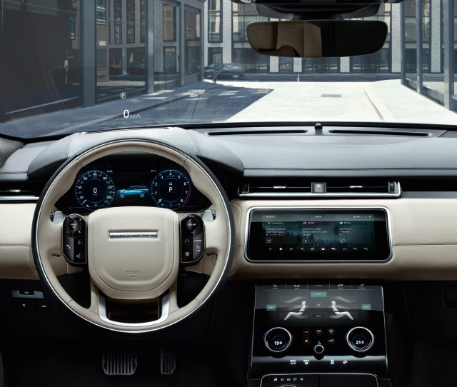 Heres A First Look At Everything We Love About The Range Rover Velar The Show Stopping Suv Thats About To Drop In Geneva
