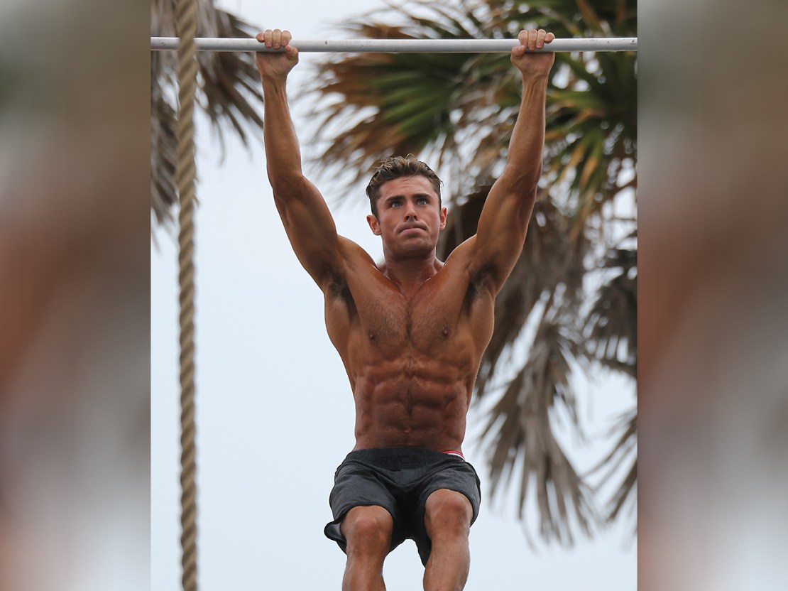 Zac Efron's Baywatch Workout