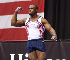 Image result for black men gymnasts