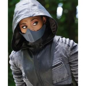 Blackbird Black Lightning Season 03 Jacket With Hood