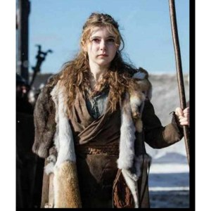 Britannia Season 3 Eleanor Worthington-Cox Coat