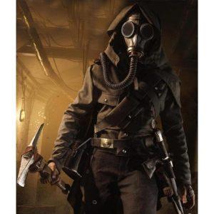Ilse Schattenwolf Battlefield V Leather Brown Jacket