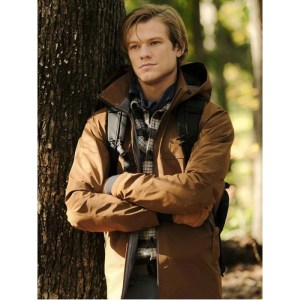 Lucas Till Character Angus MacGyver Cotton Jacket