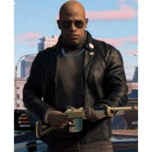 Mafia 3 Lincoln Clay Leather Black Jacket