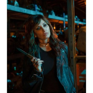 Riverdale Gladys Jones Leather Black Jacket