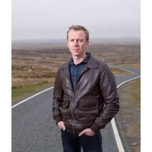 Sandy Wilson Shetland Leather Jacket