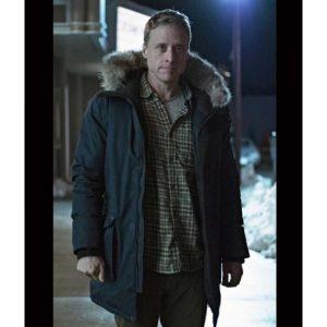 Alan Tudyk Resident Alien Black Parka Jacket