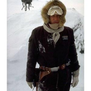 Han Solo Hoth Parka Cotton Brown Jacket