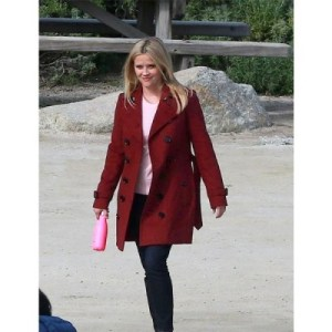 Madeline Martha Big Little Lies Reese Witherspoon Maroon Coat
