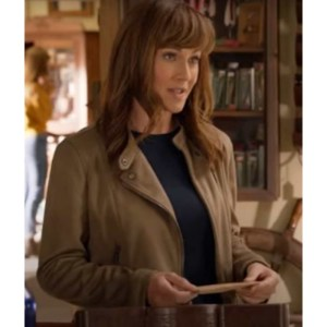 Nikki Deloach Sweet Autumn Leather Jacket