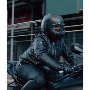 Robyn McCall The Equalizer 2021 Black Leather Jacket