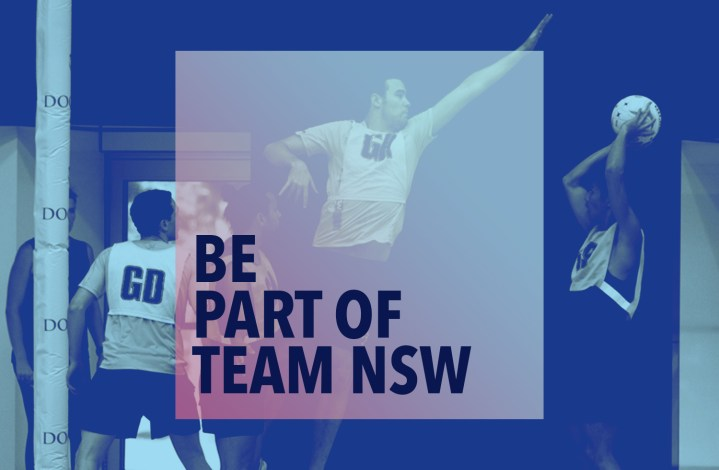 Be part of Team NSW
