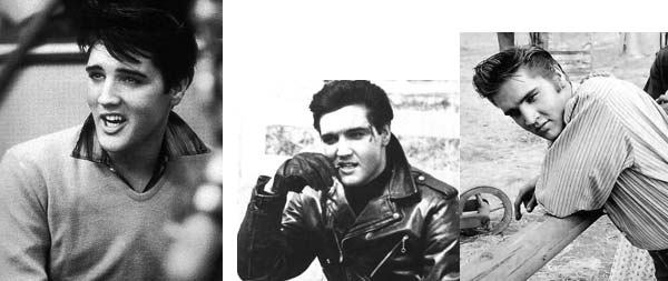Elvis Presley - master of having different fashion styles