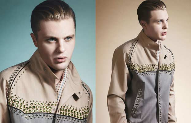 Prada Spring Summer 2012 Menswear Collection - Michael Pitt