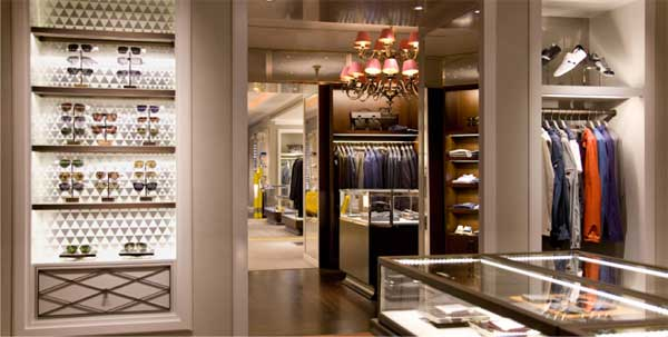 santa eulalia barcelona fashion store men's section 5
