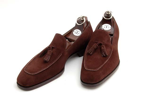 Suede Tassel Loafer shoe