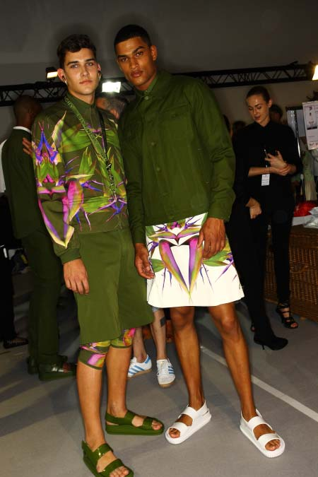 givenchy 2013 - pre spring collection for men - skirts