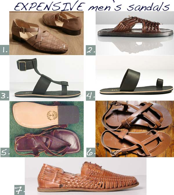 expensive sandals for 2012