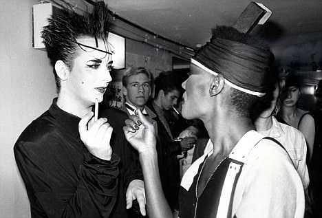 grace jones and boy george
