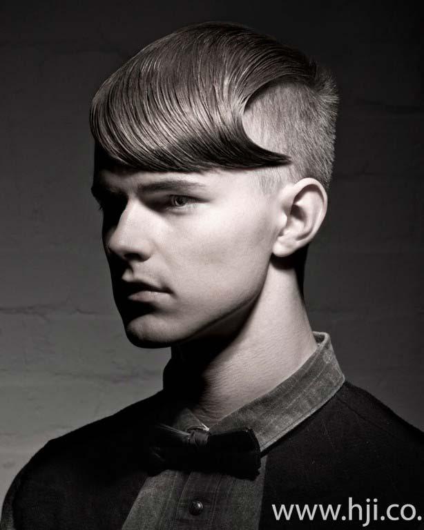 men hairstyles 2012 slick look