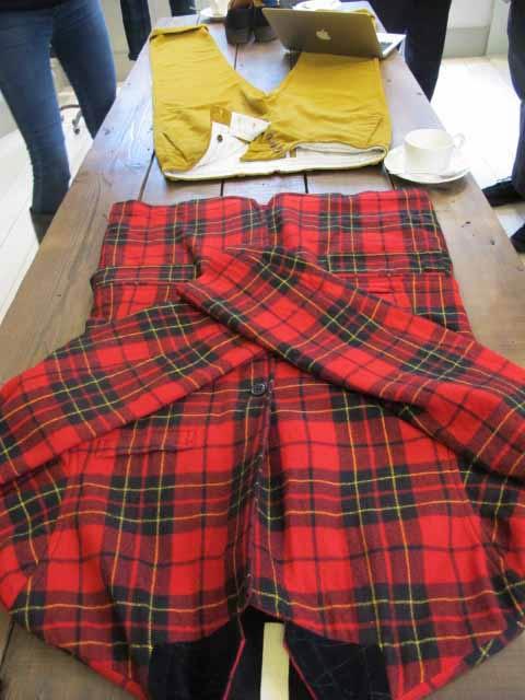 checkered,tartan shirt A/W 2012 jigsaw men