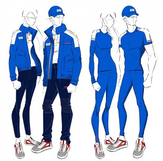 Italy - London Olympic Uniform by Emporio Armani
