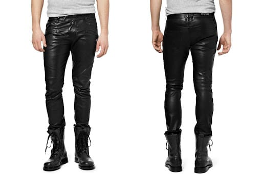 Balmain Homme Leather Pants 2012