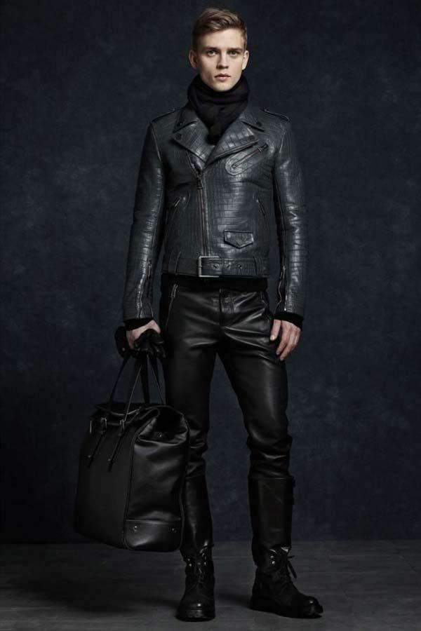 Belstaff winter aviator leather jacket