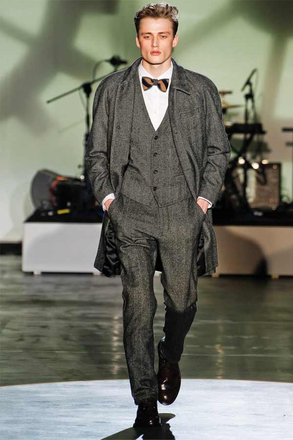 Iceberg 2013 tweed - grey suit